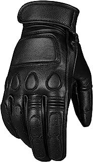 New Vintage Men's Goatskin Gloves Leather Cruiser...