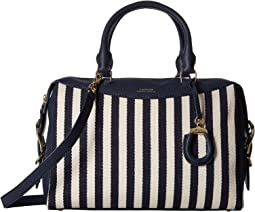 Navy/Ivory Stripe