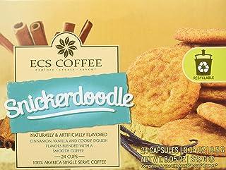ECS Coffee Snickerdoodle Coffee, 24 Count