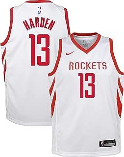 Nike James Harden Houston Rockets NBA Youth 8-20 White Home Association Edition Swingman Jersey