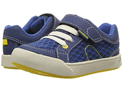 pediped Dani Flex (Toddler/Little Kid) (Blue/Lime) Boy