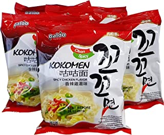 Kokomyun Hot Spicy Chicken Soup Noodle Ramen 4.23 Oz X 5