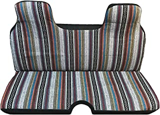 New Universal Baja Inca Saddle Mexican Blanket Mini Truck Bench Seat Cover