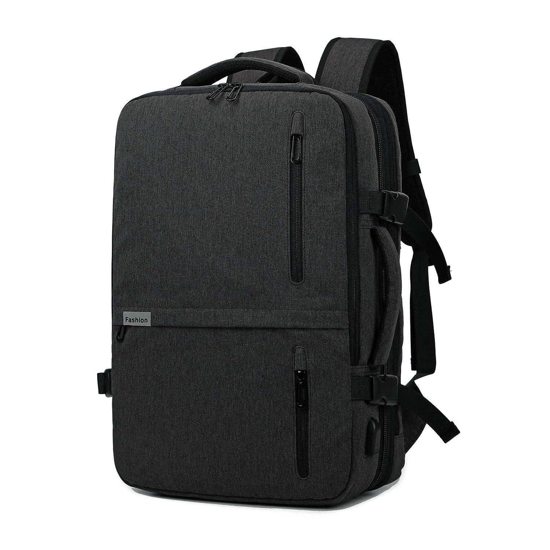 クロース(Kroeus) リュックサック USBポート 大容量 拡張機能 ビジネスバッグ 防撥水 盗難防止 15.6インチPC キャリーオン 通学 通勤 出張 男女