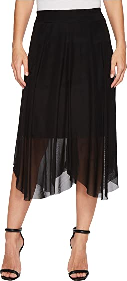 "Handkerchief Pull-On 25"" Skirt"