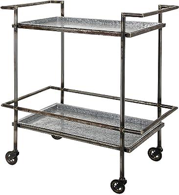 IMAX Percy Bar Cart, Black