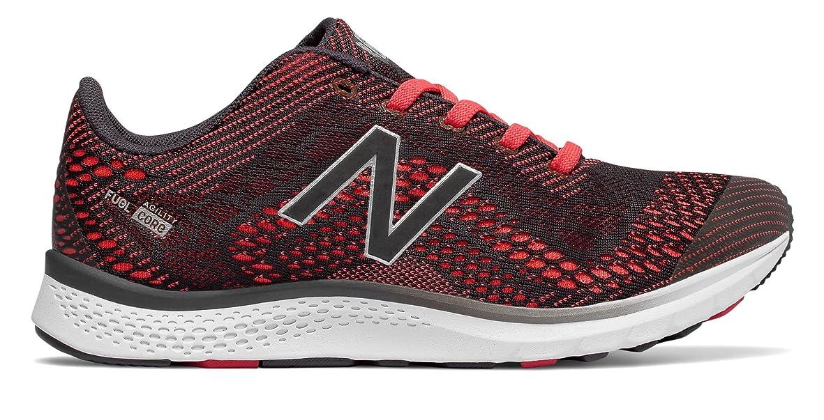 敏感なみぞれ怠惰(ニューバランス) New Balance 靴?シューズ レディーストレーニング FuelCore Agility v2 Energy Red with Phantom レッド US 6.5 (23.5cm)