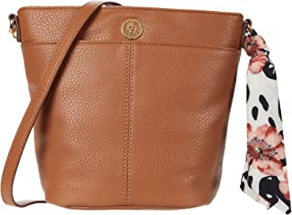 Bucket Crossbody w/Chain