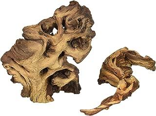Zoo Med (2 Pack) Laboratories AZMMAS Mopani Wood, Small, 6 to 8-Inch