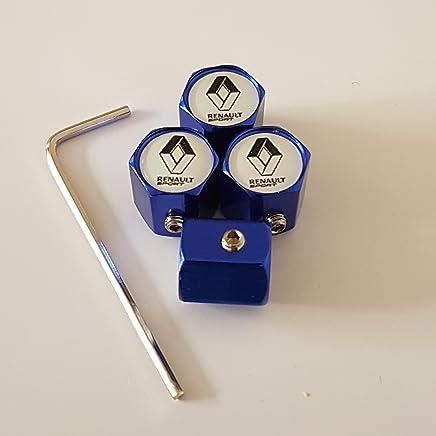 BuyEasyEU Lot de 4 Cache-moyeux de Roue 56 mm pour Opel