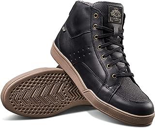 Roland Sands Design Fresno Riding Shoe Black/Gum 10 (More Size and Color Options)