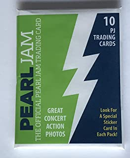 Pearl Jam seattle baseball card pack 2018 mariners safeco field the home shows