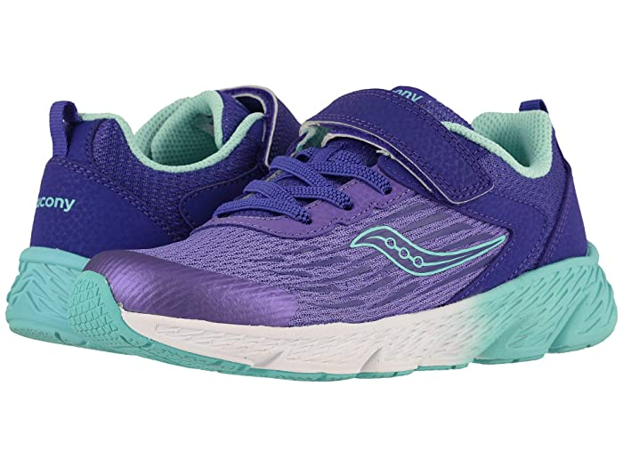 Saucony Kids  Wind A/C (Little Kid/Big Kid) (Purple) Girls Shoes