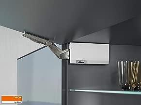 Placa soporte derecho para el mecanismo de apertura asistida de puertas sin tiradores TIP-on versi/ón est/ándar y larga Blum