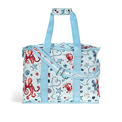 Vera Bradley Cooler Bag (Light Blue Sea Life) Wallet