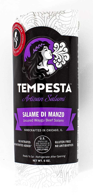 Today's only Tempesta Salame di Manzo Waygu OZ 5.5 Salami San Antonio Mall Beef