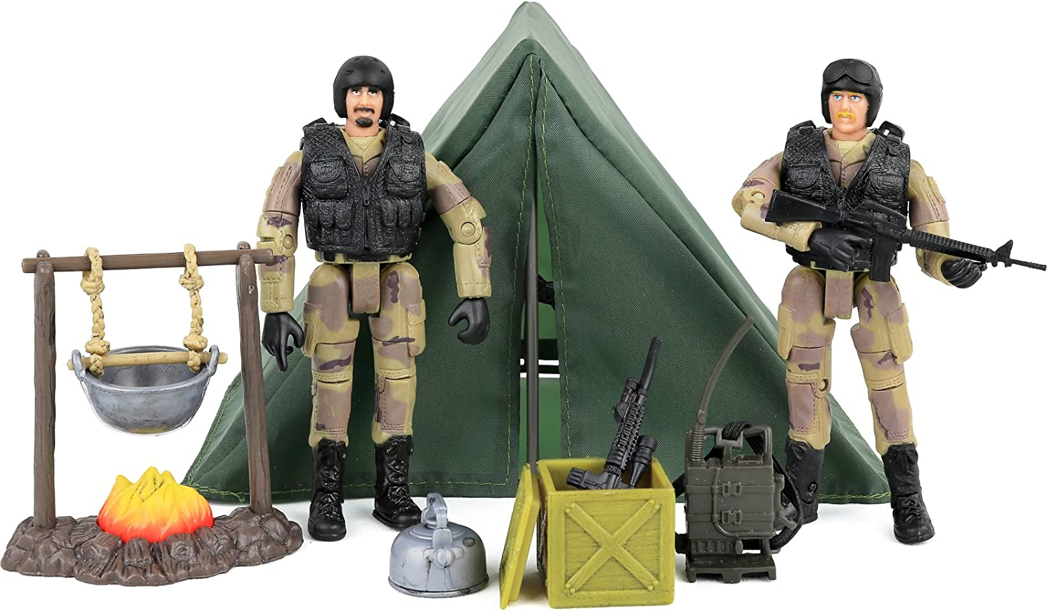 Click Some 2021 autumn and winter new reservation N' Play Military Life Camping Set with Piece 12 A