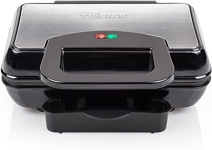 Tristar 不锈钢汉堡机 – 带防粘涂层 带集成脂肪滴漏系统 GR - 2843