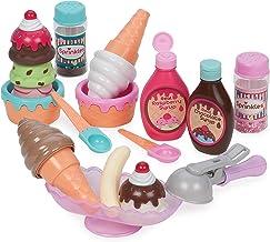 Play Circle by Battat – Sweet Treats Ice Cream Parlour Playset – Sprinkles, Cones,..