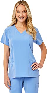 Image Scrub Top IM1100 Women's 3-Panel V-Neck | Perfect for Medical, Dental, Veterinary and O.R.