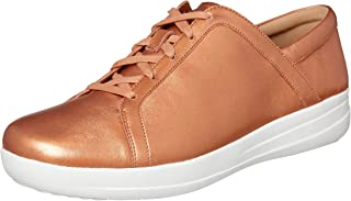 FitFlop Women's Rockport Casual F-Sporty II Sneaker, Bronze