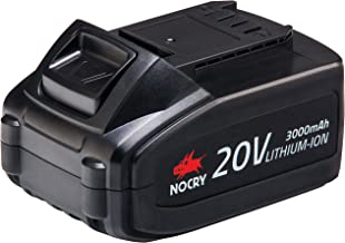 NoCry 20V Lithium Ion Battery – Rechargeable 3.0 Ah Battery for NoCry Cordless..