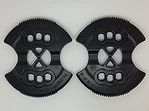Burton New Snowboard Re-Flex ICS Hole Binding Mounting Disc's Disk's