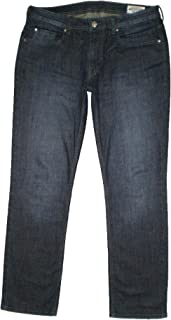 Buffalo David Bitton Men's Jackson-X Straight Leg Blue Denim Jeans