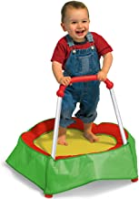 Diggin Hop Mini Toddler Trampoline with Handle. Baby Indoor Jumping Toy