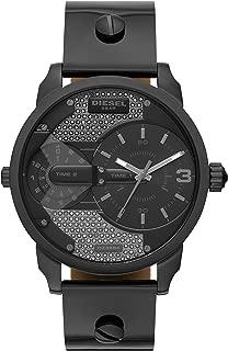 Diesel Women's Mini Daddy Two-Hand Black-Tone Stainless Steel Watch DZ5584