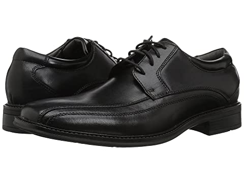 Black Bike Dockers Toe Endow Leather Polished Oxford IxAnAqZ1Bw