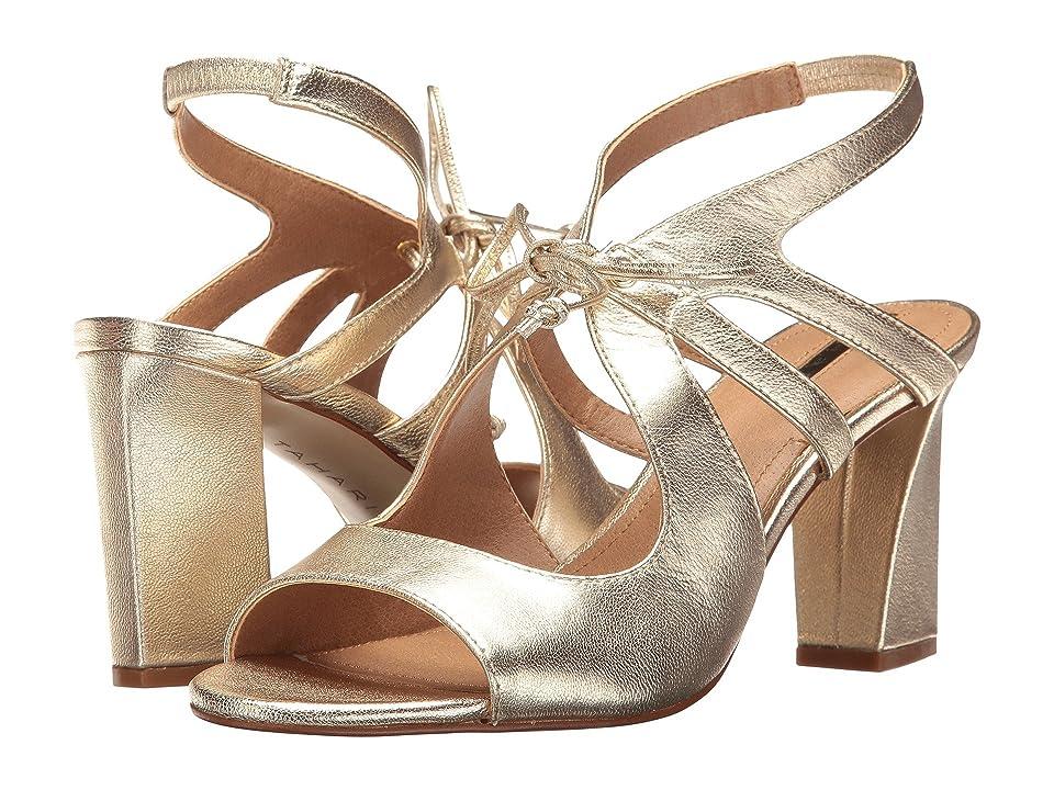 Tahari Night (Platino Jersey Metallic) High Heels