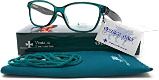 VENICE EYEWEAR OCCHIALI - Presbyopia leesbril vrouw design in de kleuren: groen, beige, paars, zwart. VENICE Yulia Dioptri...