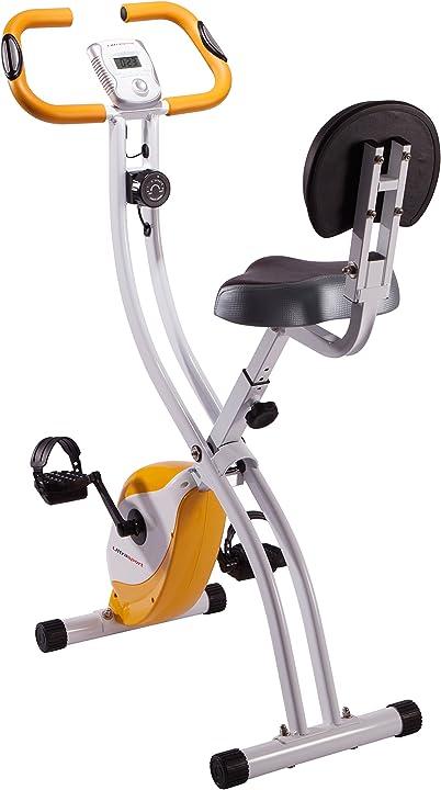 Ultrasport unisex f-bike advanced exercise bike, display lcd, home trainer pieghevole 3.314E+11