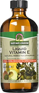 Natures Answer Liquid Vitamin E, 8 Ounce
