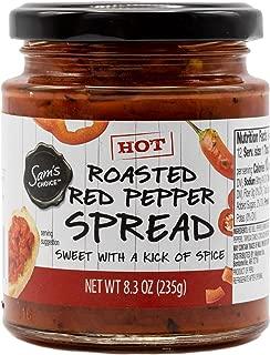 Sam's Choice Roasted Red Pepper (Hot) Spread/Bruschetta/Sauce 8.3oz Single Jar