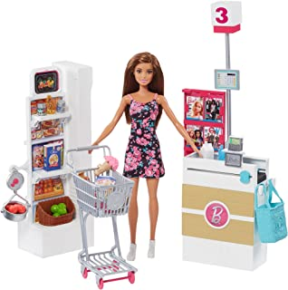 Barbie Supermarket Set, Brunette