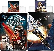 All-In-One-Outlet-24 Jedi Yoda Star Wars Bettw/äsche glatt /Übergr/össe Luke Schwert Lucasfilm 155 x 220 cm NEU Wow