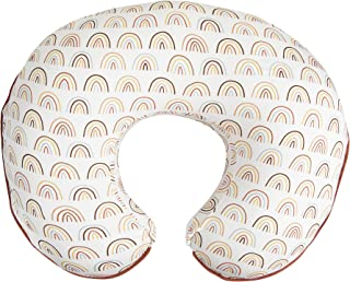 Boppy Organic Fabric Nursing Pillow Cover, Spice Rainbows, Fashionable Two-Sided Design, Fits All Boppy Nursing Pillows & ...