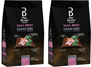 Pure Balance Grain Free Small Breed Chicken & Garden Vegetables, 4lb