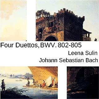 Bach: Four Duettos, BWV 802-805
