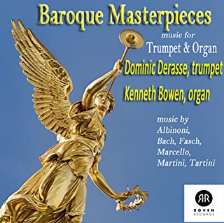 baroque trumpet and organ