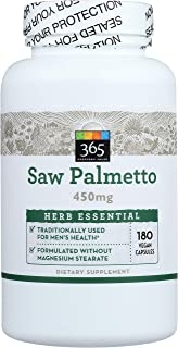 365 Everyday Value, Herb Saw Palmetto, 180 Count