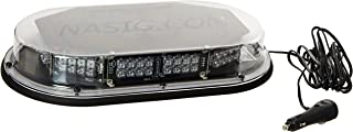 North American Signal MMBSLEDFL-C LED Mini Light Bar, Magnetic Mount, Clear