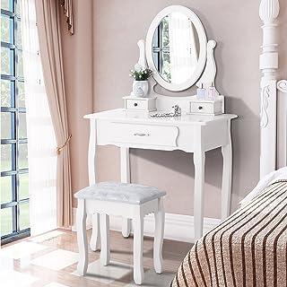 Fabulous Amazon Com Makeup Vanities Vanity Benches Bedroom Download Free Architecture Designs Jebrpmadebymaigaardcom