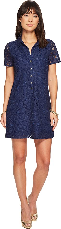 High Tide Navy Pop Floral Lace