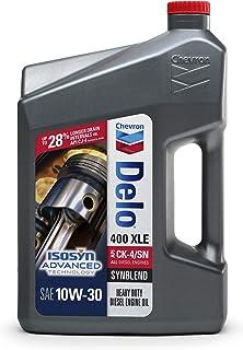 Delo 257000470 400 XLE 10W-30 Synblend Motor Oil - 1 Gallon