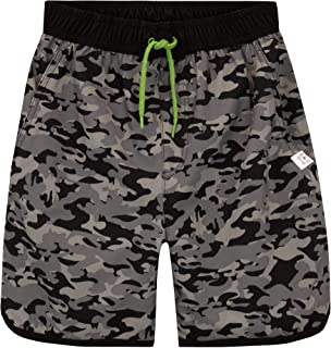 Harry Bear Boys Camouflage Swim Shorts