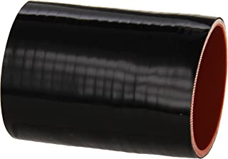HPS HTSC-275-L4-BLK Silicone High Temperature 4-ply Reinforced Straight Coupler Hose, 70 PSI Maximum Pressure, 4 Length, 2-3/4 ID, Black