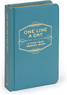One Line A Day: A Five-Year Memory Book (5 Year Journal, Daily Journal, Yearly Journal,..